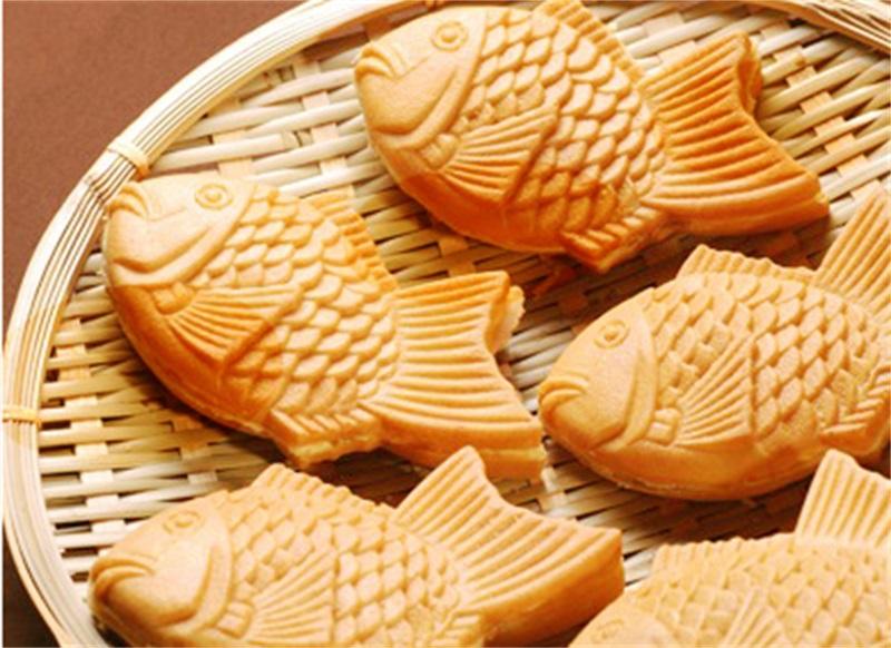 Taiyaki-fish-maffle-maker-waffle-ice-cream-machine